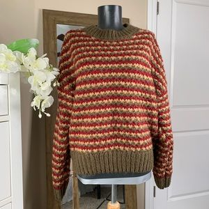 Romeo + Juliet Couture Chunky Knit Sweater Medium